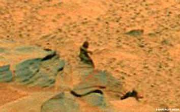 火星上惊现裸体女性?!