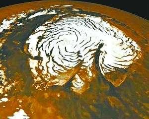 火星北极观察