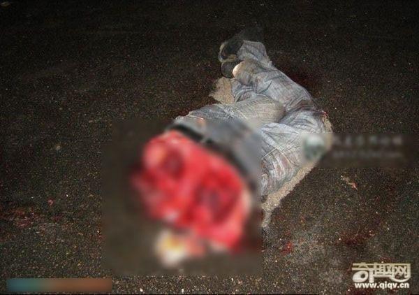 车祸导致3人分尸,玉丝美女袒露惨死