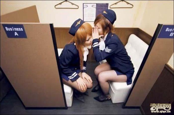 日本妓院内部景象探秘