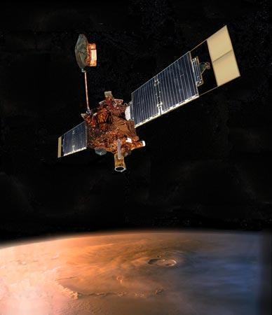 """""""火星环球勘探者""""的发现"""