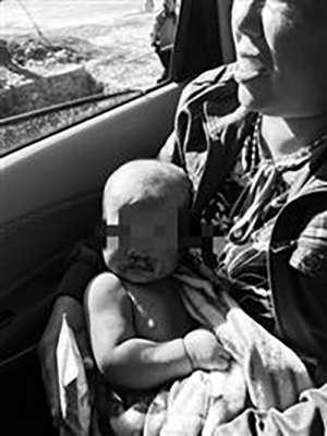 辽宁村妇背娃采蘑菇失联18小时发现坠崖,母亲已死孩子轻伤