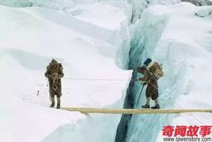 在西藏有这样一个族群 他们以在珠峰上班为生