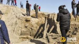 河北疑挖出明朝五代将军墓 史料匮乏几近传说