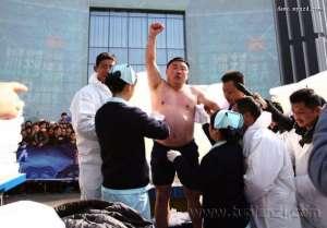 长沙冰封活人48小时 创世界纪录